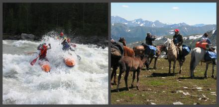 Аккемский прорыв + Водноконное путешествие по Алтаю