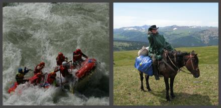 Сплав по Чуе + Водноконное путешествие по Алтаю